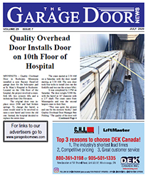Garage Door News July 2002